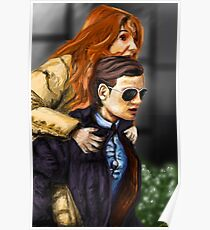 Karen Gillan and Matt Smith Poster
