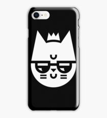 Cynical Cat iPhone Case/Skin