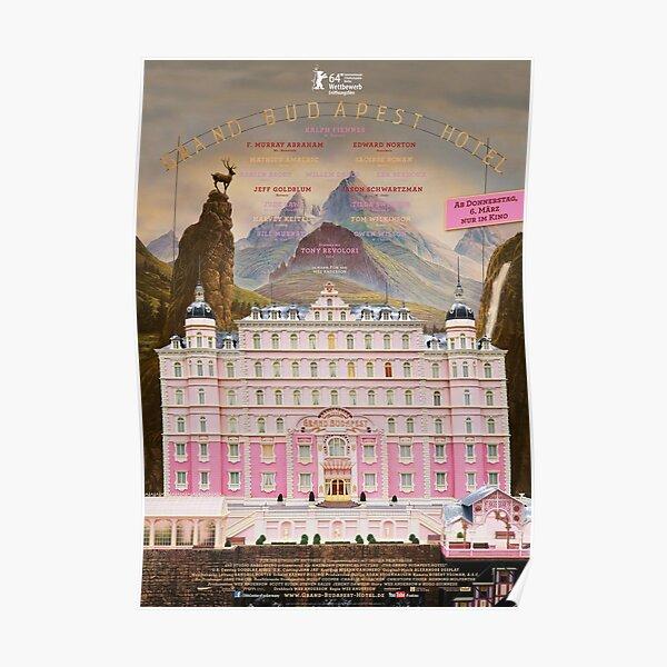 Affiche du film alternatif du Grand Budapest Hotel Poster