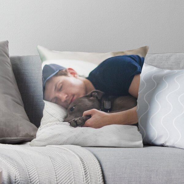Tom Holland with Tessa Throw Pillow