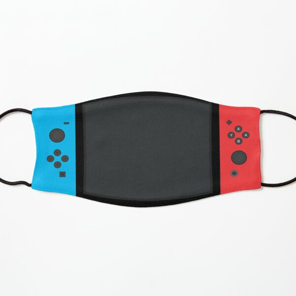 Nintendo Switch Blue Red Game Gaming Gamer Conception de masque facial ajusté Masque enfant