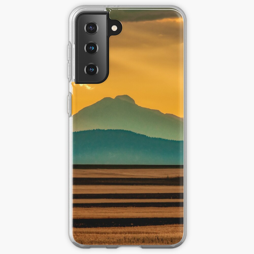 Sunset Music On The Colorado Plains Case & Skin for Samsung Galaxy