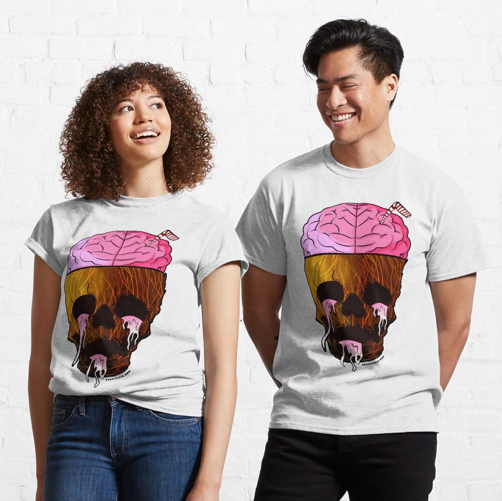 Coconut Skull - Grunge Fruit Skull Classic T-Shirt