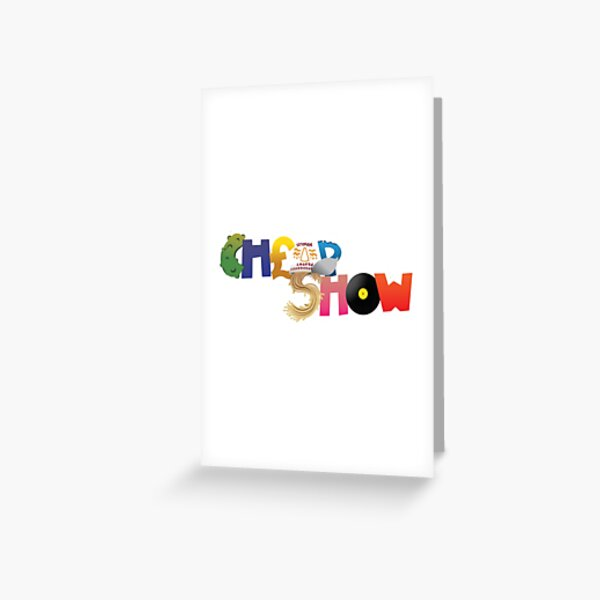 CheapShow Variety Greeting Card