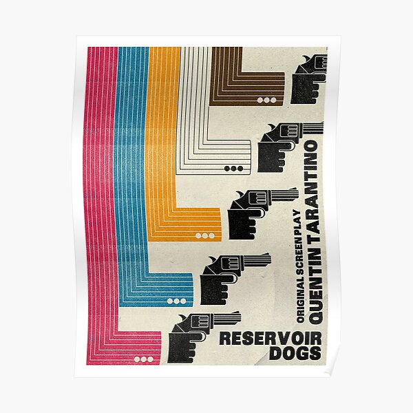 Póster de película alternativa Reservoir Dogs Póster