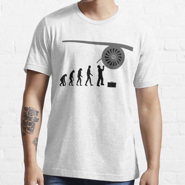 Engine mechanic airplane technician gift idea Essential T-Shirt