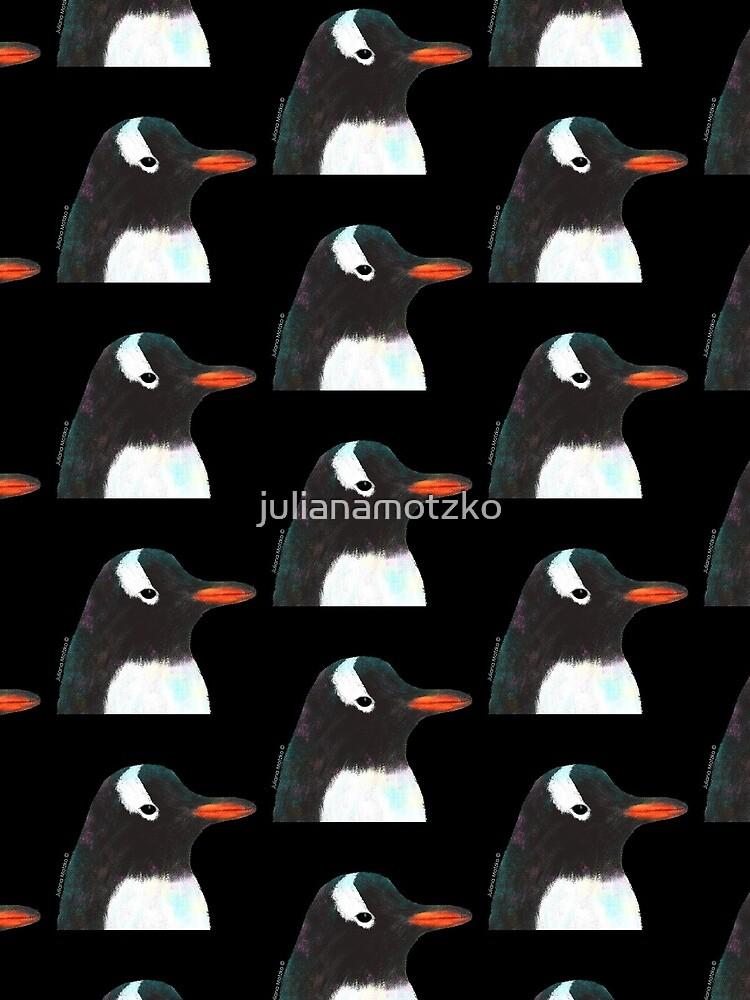 Gentoo Penguin by julianamotzko