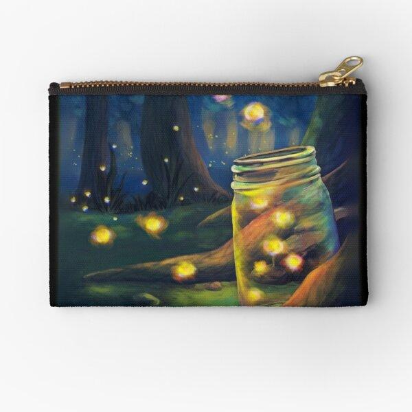 Firefly Night Zipper Pouch