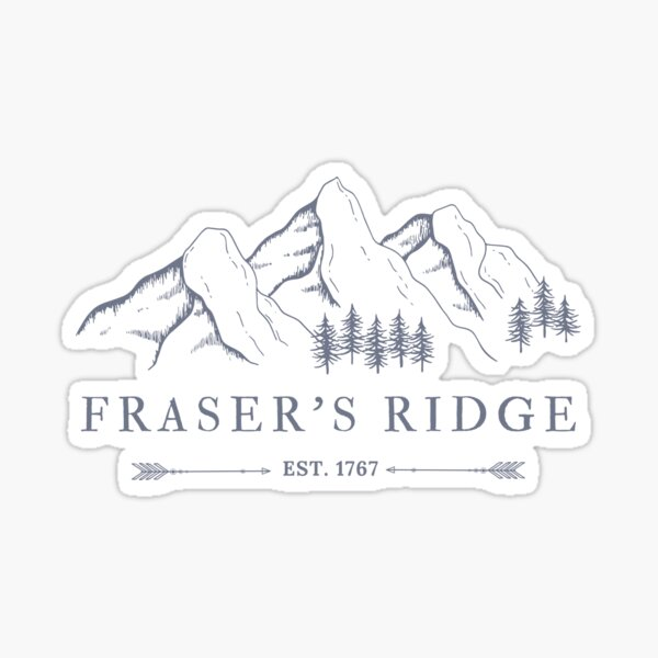 Outlander, Fraser's Ridge Sticker