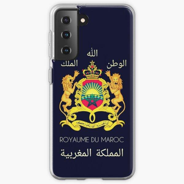Kingdom Of Morocco Coque souple Samsung Galaxy
