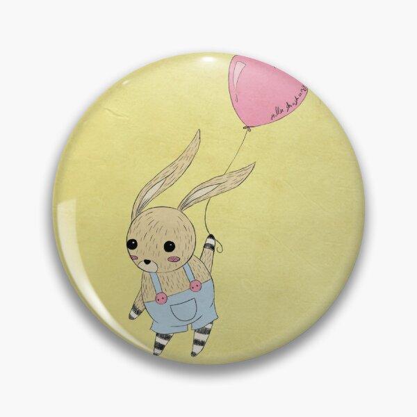 Bunny & Balloon Pin