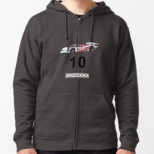 Porsche 962 Kenwood Zipped Hoodie