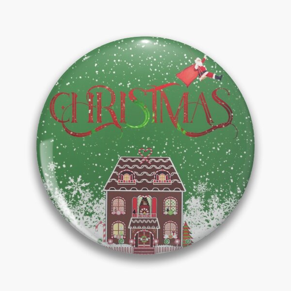 Christmas ginger bread house Pin
