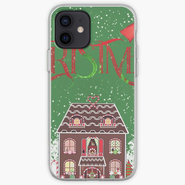Christmas ginger bread house iPhone Soft Case