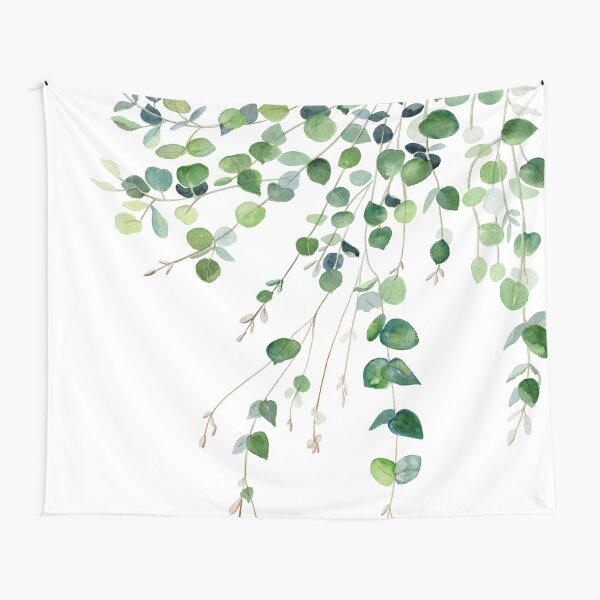 Eucalyptus Watercolor Tapestry