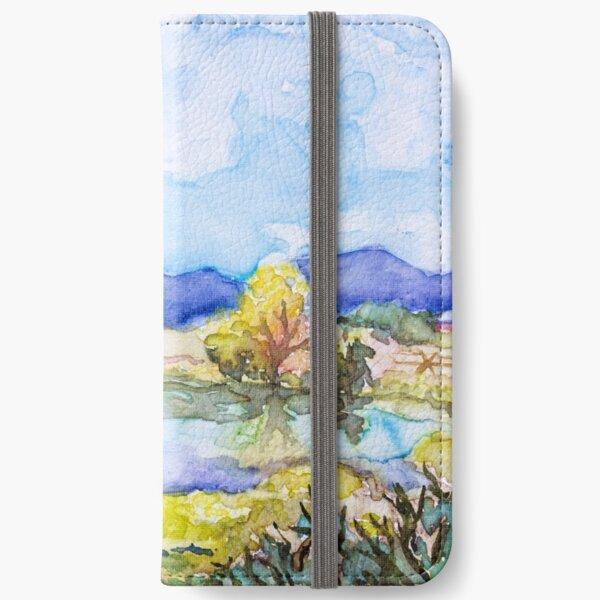 Autumn Mountainscape iPhone Wallet