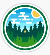Woods Badge - Day Sticker