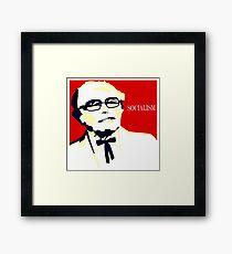 Colonel Sanders - Bernie Sanders Framed Print