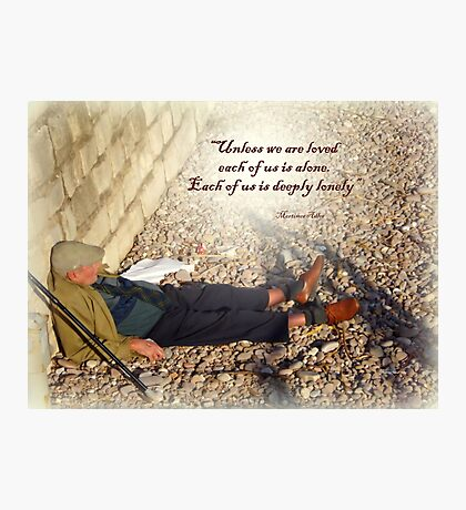 Soothing Rest Photographic Print