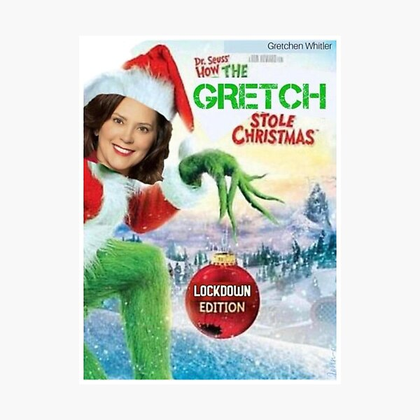 How the GRETCH Stole Christmas Photographic Print