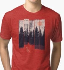 A Fox in the Wild... Tri-blend T-Shirt