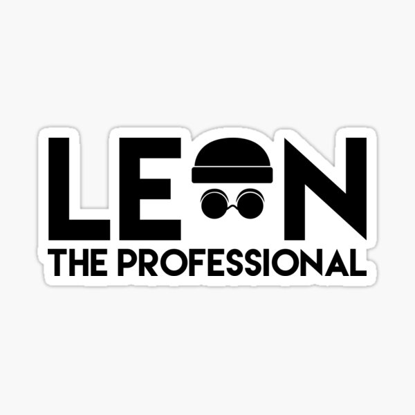 Leon der Profi Sticker