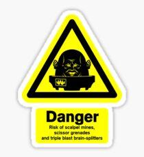 Sontaran Danger! Sticker
