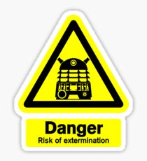 Dalek Danger! Sticker