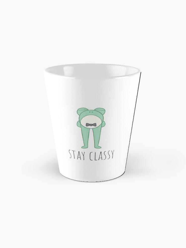 Alternate view of Stay Classy Frog Mug
