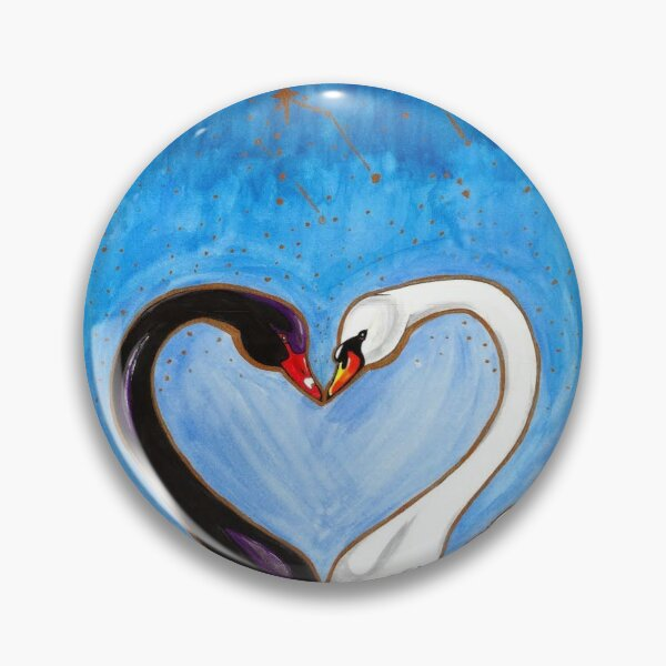 The Lovers, Astral Reflections Tarot Pin