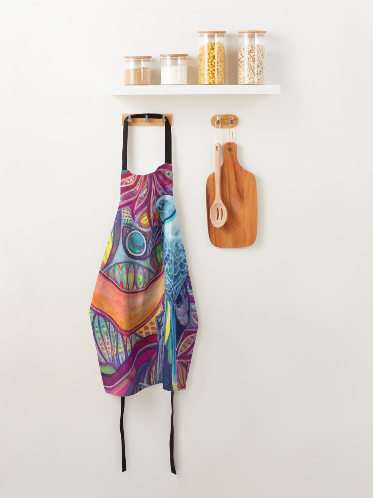 Alternate view of Voice of The Jungle Apron