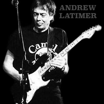 Andrew Latimer - The Camel Band T-Shirt by rdbbbl