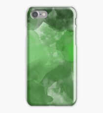 Green Watercolor iPhone Case/Skin