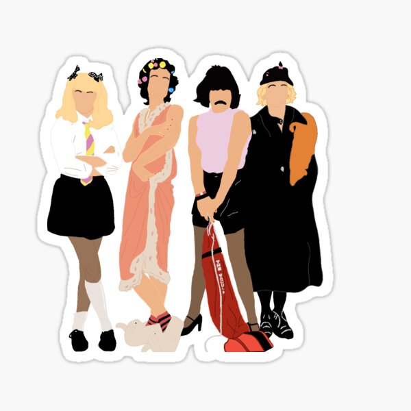 Queen - I Want To Break Free Sticker