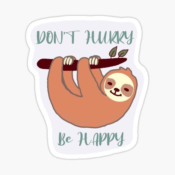 Sloth sticker Sticker