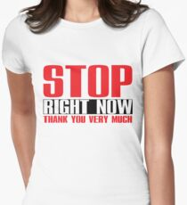 Spice Girls - Stop Women's Fitted T-Shirt
