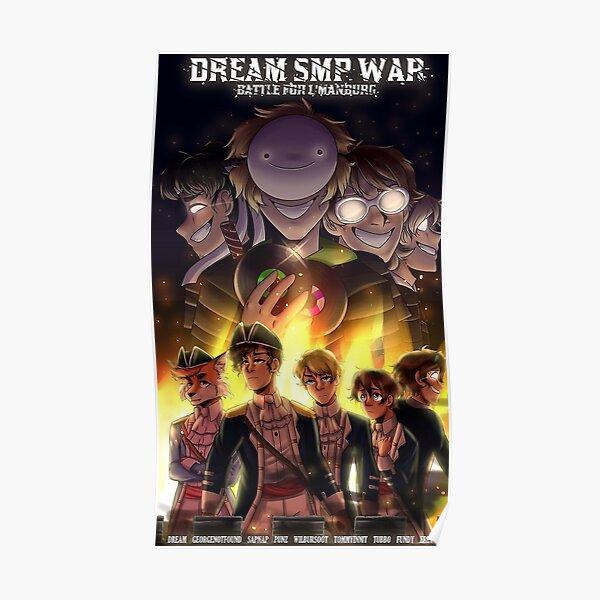 dream fall war smp Poster