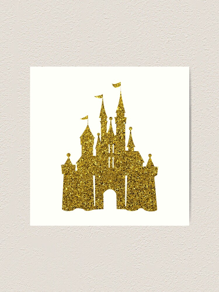 Alternate view of Gold Art Print