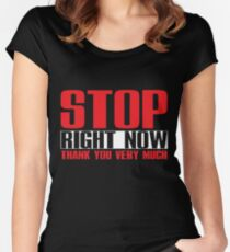 Spice Girls - Stop Women's Fitted Scoop T-Shirt