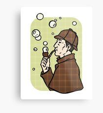 Bubbles, dear Watson Metal Print