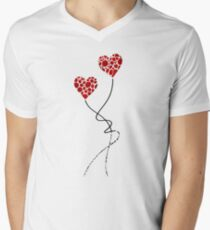 Romantic Art - You Are The One - Sharon Cummings Mens V-Neck T-Shirt