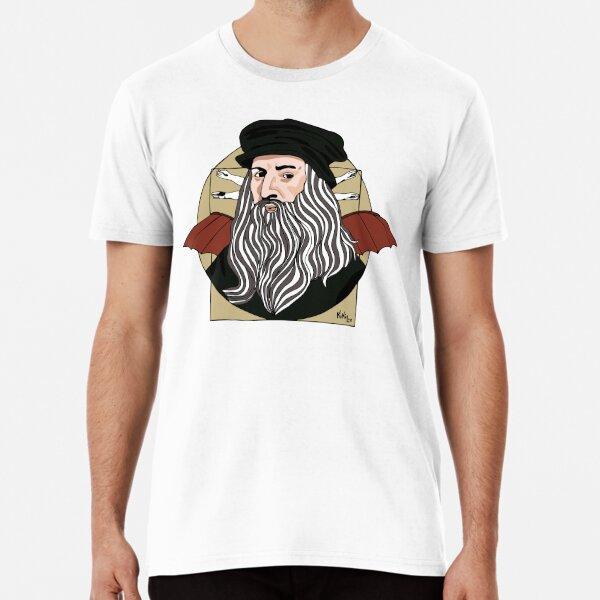 Leonardo Da Vinci  Camiseta premium