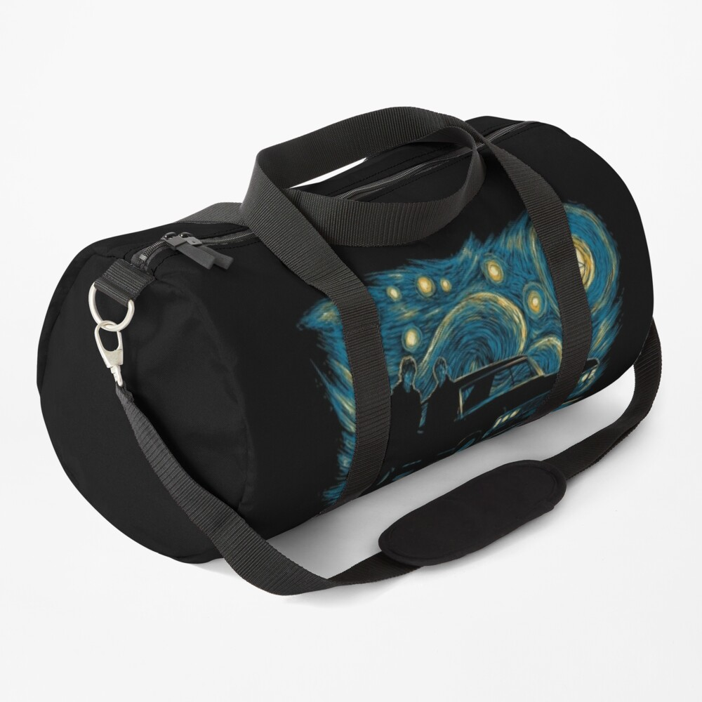 Starry Supernatural Night Duffle Bag