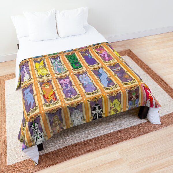 Card Clow Collage Comforter