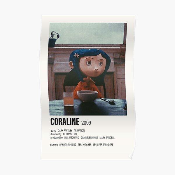 Póster de película alternativa de Coraline Póster