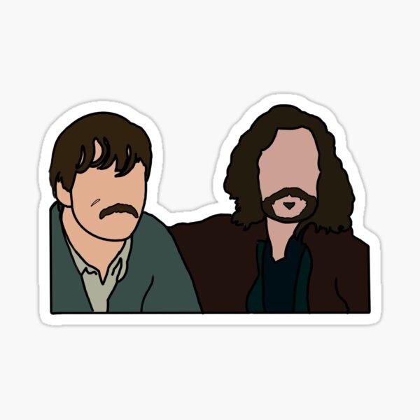 Pegatina Remus y Sirius Pegatina