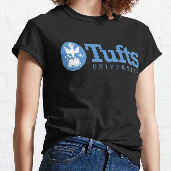 Women_s Tufts University Seal Blue Logo Classic T-Shirt