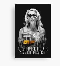 Gillian Anderson - A Streetcar Named Desire Canvas Print