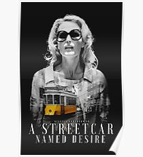 Gillian Anderson - A Streetcar Named Desire Poster