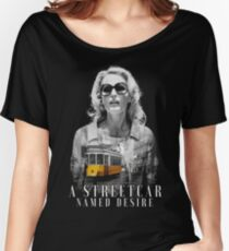 Gillian Anderson - A Streetcar Named Desire Women's Relaxed Fit T-Shirt